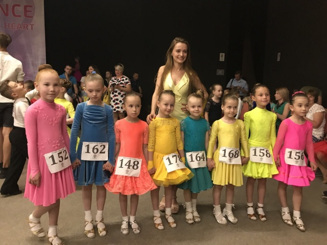 Бально-спортивные танцы 2018